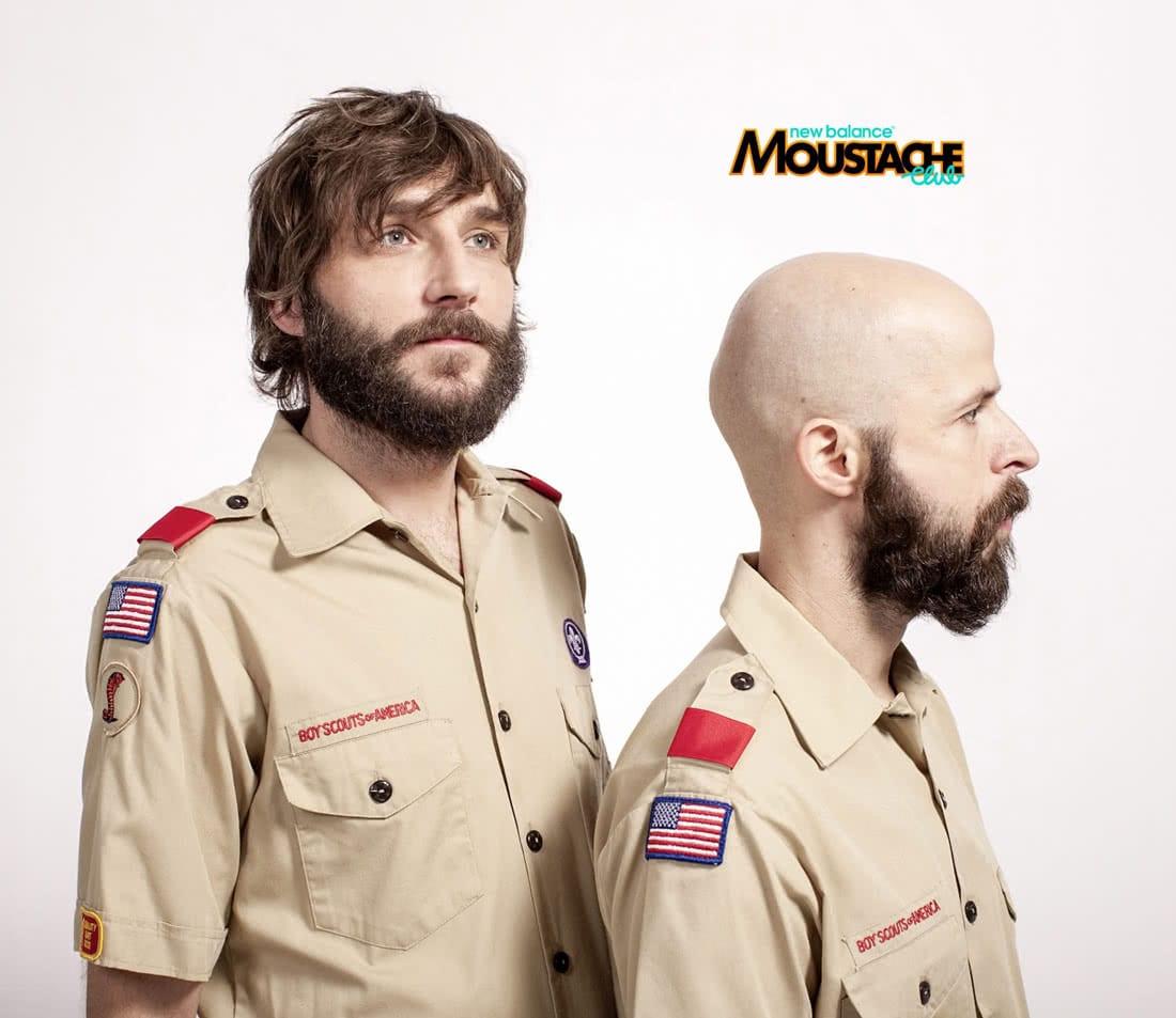 New Balance Moustache Club
