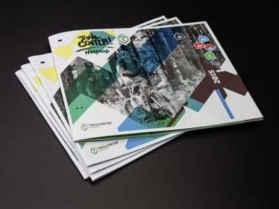 Trailcenter Rabenberg – Broschüre